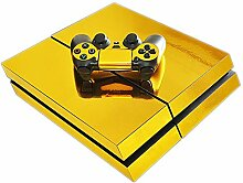 QPZYB Playstation Host PS4 Maple Leaf Sticker