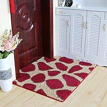 QQA Teppich Matte Verdickung Küche Bad