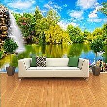 Qqasd 3D Fototapete Tapete Für Die Wände