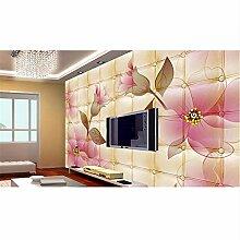 Qqasd benutzerdefinierte 3d luxus tapete