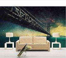 Qqasd Brückenbau Tapete für Wände Cafés