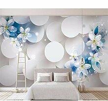 Qqasd Dekoration 3D Wandmalereien Vlies Vinyl