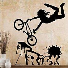 Qqasd Diy Fahrrad Aufkleber Dekoration Nordischen