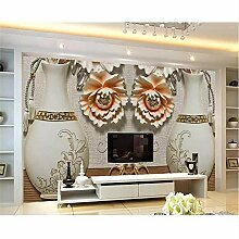 Qqasd Home Improvement Brick Wallpaper Vase Design