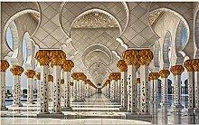 Qqasd Luxuriöse Atmosphäre Tapete für Wände 3d
