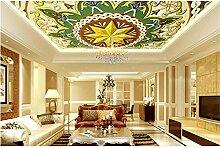 Qqasd Tapete für Wände 3d Deckengemälde Tapete