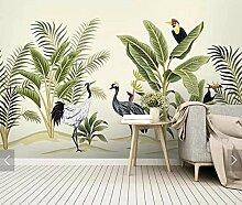 Qqasd Tropische Tukan Tapete Wandbild für