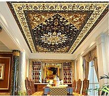 Qqasd Wandgemälde der Decken-3D-Wandbilder