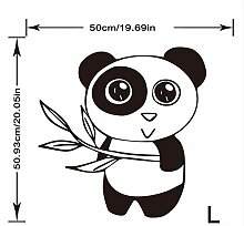 Qqasd Zweig Panda Tapete Aufkleber Für