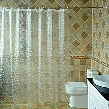 QQB @Duschvorhänge Badezimmer 3D Duschvorhang,
