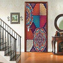 QQFENG Selbstklebende Wandkunst Aufkleber
