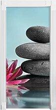 QQFENG Türaufkleber Home Decor PVC Wandbild