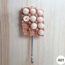 QQGGTongFeng Schick Küche Dekorative Wandhaken
