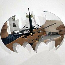 QQGGZX 3D Clock Wandaufkleber Spiegel Dekorative