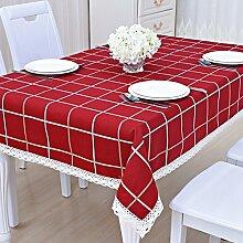 QQT Tischdecke Tisch Couchtisch Pad Cover