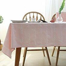 QQWWERTG New/Tischdecke/Flamingo/Palme/Esstisch/Tuch/Pink/Cover/Round Table/Tuch/Schildkröte/Round Table/Tischdecke/, Pink/Englisch/, 130 * 200Cm