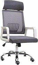 QQXX Bürodrehstuhl Ergonomischer Stuhl mit hoher
