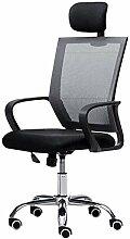 QQXX Bürodrehstuhl, ergonomischer Stuhl mit hoher
