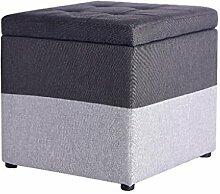 QQXX Fußschemel Sofa Große Multifunktionale