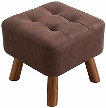 QQXX Hocker Home Sofa Hocker Massivholz Bequeme