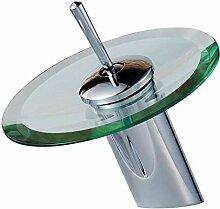 QQYX Chrom Wasserhahn Küchenarmatur Hoher Auslauf