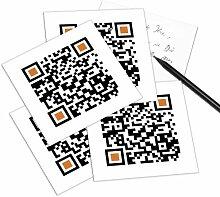 QRCP QR-Code Postkarte - mit Smartphone einscannen