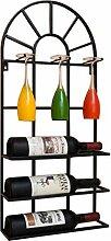 QRFDIAN Wand-Weinregal Dekoration Weinglas Halter