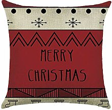 QRJDA@ Kissenbezüge Weihnachten Serie (45 x