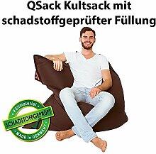 QSack Kultsack mit Toxproof Mikroperlen Sitzsack