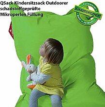 QSack Outdoorer Kindersitzsack, mit Innenhülle