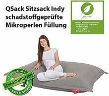 QSack Sitzsack Indy, mit Inlett und