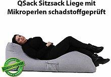 QSack Sitzsack Liege Indoor EPS Füllung
