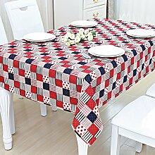 QT Square Tischdecke,Stoff Mat Tisch Pad