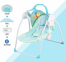 QT&YY Elektrische Wiege,Baby schaukelstuhl Komfort