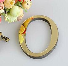 QTBHTZ Wandaufkleber 1 Stück 10 cm Spiegel