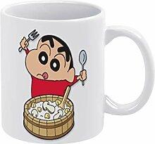 QTQC 1 (24) weiße Tassen, Weihnachtsbecher-Se