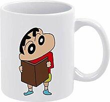 QTQC Buntstift Shin-Chan (5) weiße Tassen,