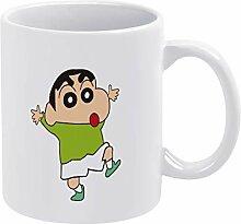 QTQC Crayon Shin-Chan (116) weiße Tassen,