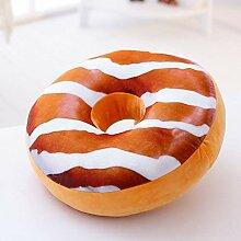 QTQZ Kuchen Kissen,Donut Kissen plüsch Kissen