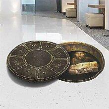 QTXINGMU 3D-Effekt Deckel Boden Wand Aufkleber