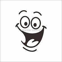 Qtydmdh Smiley Toilettenaufkleber Diy