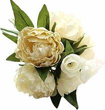 Quaan Blume Pfingstrose Kunstblume Blumenstrauss
