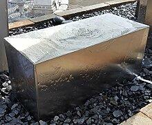 Quader Würfel Rechteck 60/25/30 cm Edelstahl matt