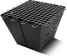 Quadrat Faltgrill Grill Antiskorching Outdoor