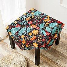 Quadrat haushalt tischtuch kaffee tisch decken schrank tisch handtuch staub-proof tuch-G 140x200cm(55x79inch)