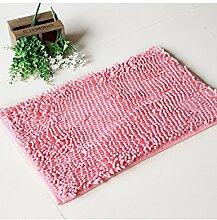 Quadrat Wasserdicht Anti-Rutsch-Der neue Teppich Wasserabsorption Teppich Fußmatte Badezimmer Küche Schlafzimmer Teppich ( Farbe : B , größe : 20*40cm )