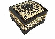 Quadratisch Schmuck Cosmetics Treasure Box