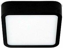 Quadratische Deckenleuchte LED Orto White Breite