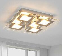 Quadratische LED-Küchenlampe Manja