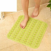 Quadratische Matte/Badezimmer Matte/Gro?e Badematte/Dusche Matte/Massage Fu?auflage/Bodenmatte/Badematte-A 45x45cm(18x18inch)
